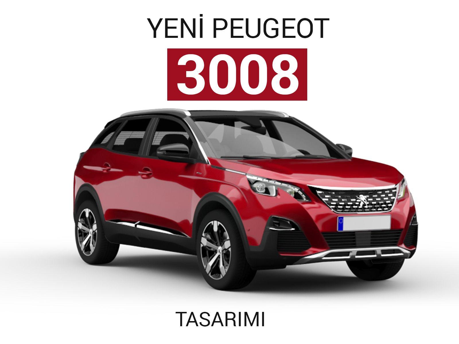 Peugeot 3008 Tasarım Detayları