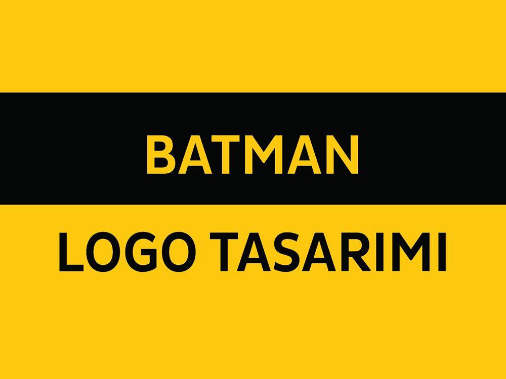 Batman Logo Tasarımı