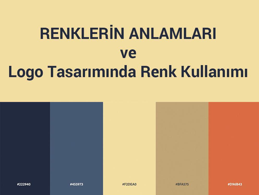 Renklerin Anlamları ve Logo Tasarımında Renk Kullanımı