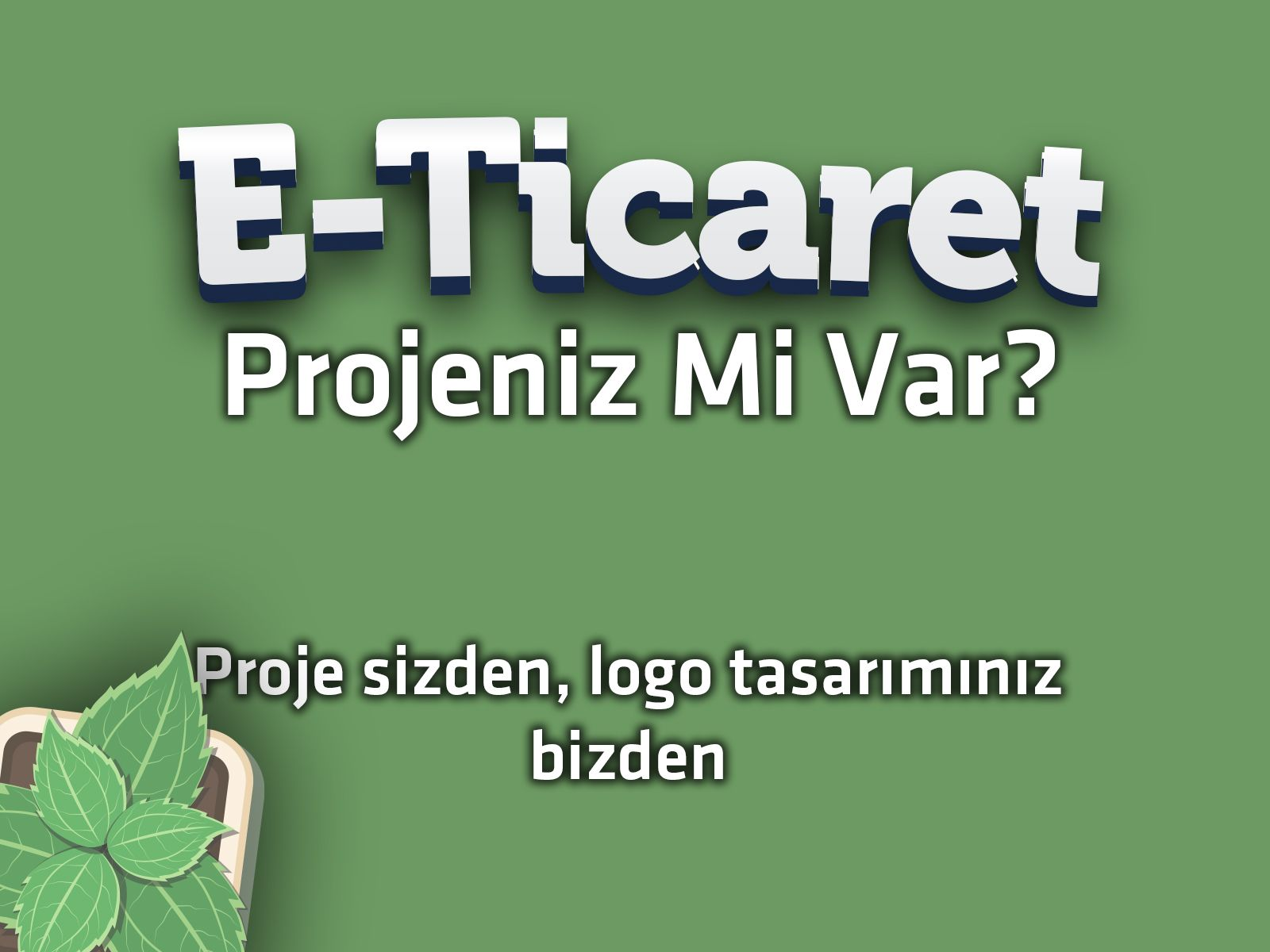 E-Ticaret Logo Tasarımı - Eticaret Logo Tasarımları
