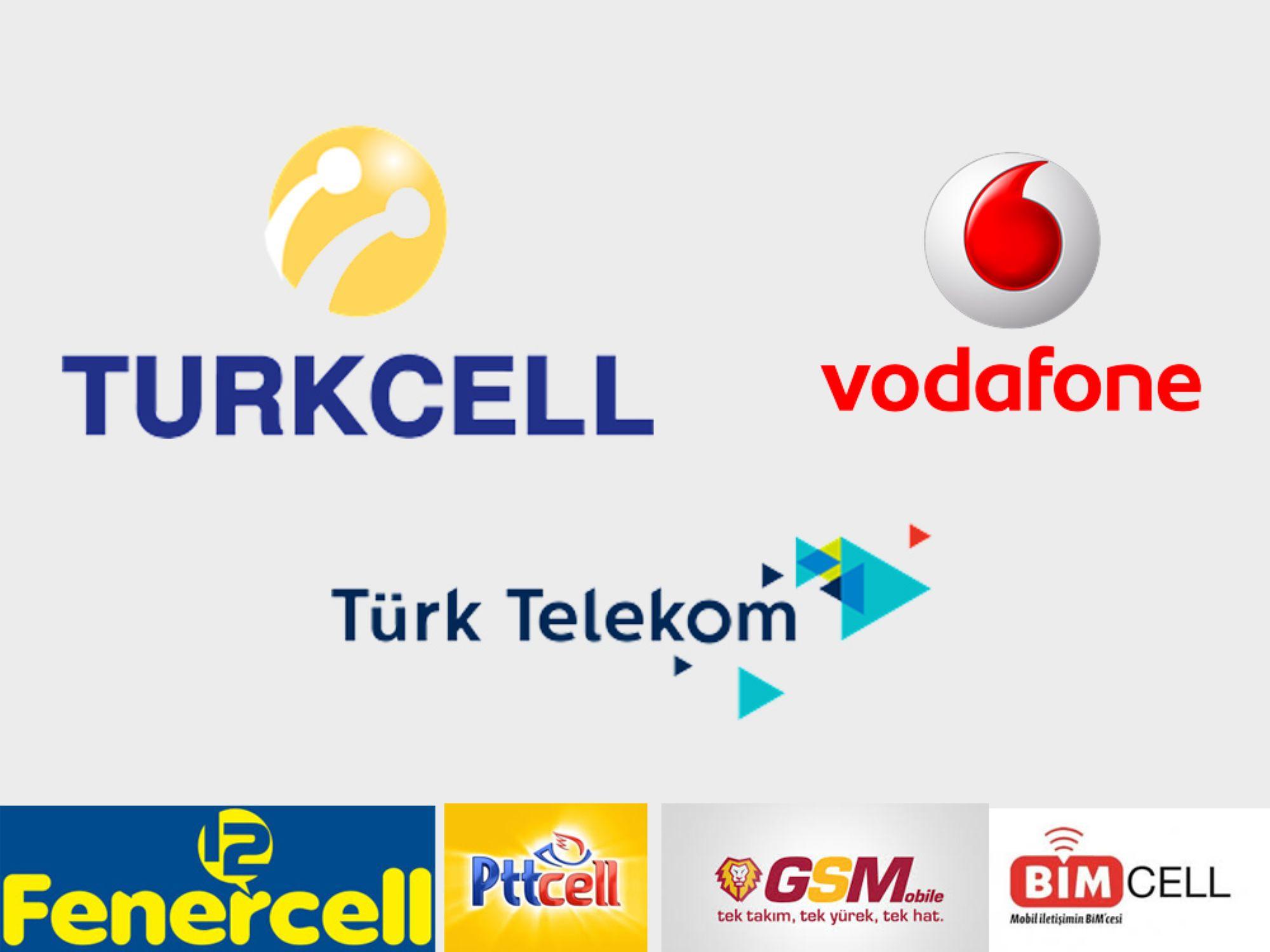 Türkiye'deki Gsm Operatör Şirket Logoları