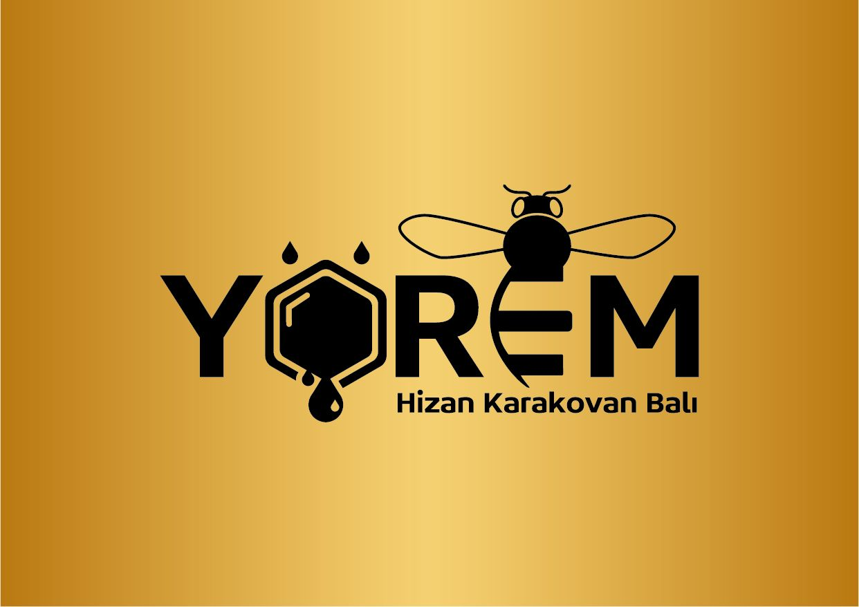 Yörem Bal - Hizan Karakovan Balı - Bal Logoları