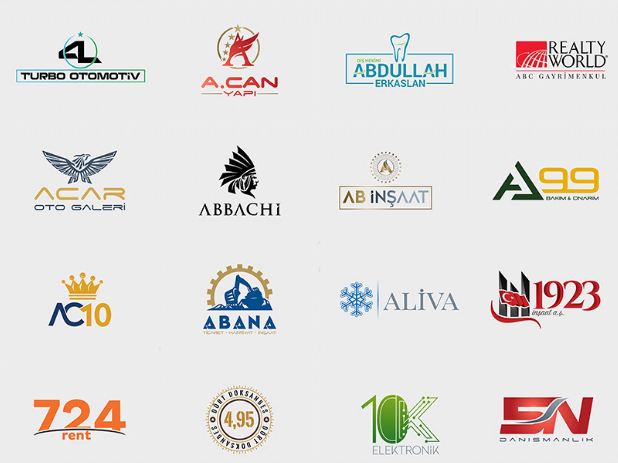 Logo Tasarımı - Logo Tasarım Örnekleri