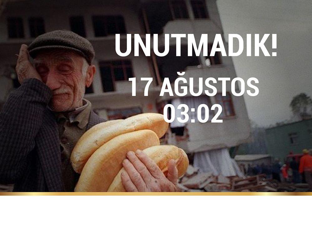 17 Ağustos Marmara Depremi (Sosyal Medyada Paylaş)